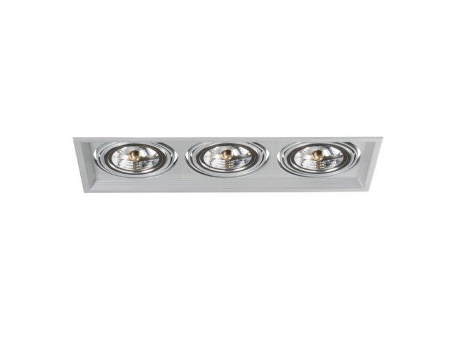 Podhledové svítidlo AR111 ARTO 3L-SR stříbrné