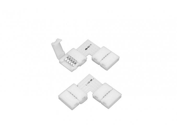 Click spojka L pro RGBW LED pásek