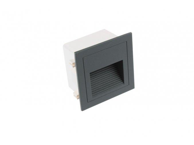 LED vestavné svítidlo LOPEN-G, IP65, 230V, 3W
