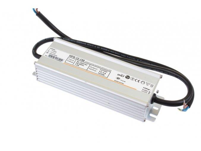 LED zdroj  HPS 12V 150W IP67