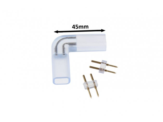 L spojka LED pásku V3  na 230V