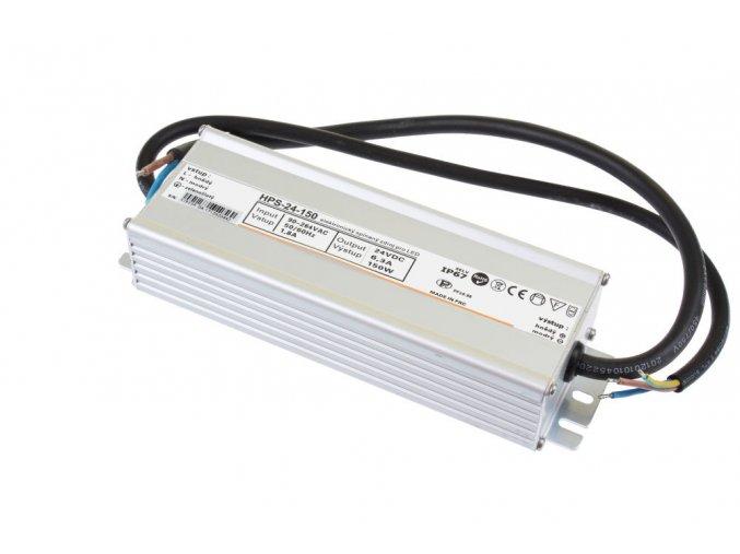 LED zdroj HPS 24V 150W IP67