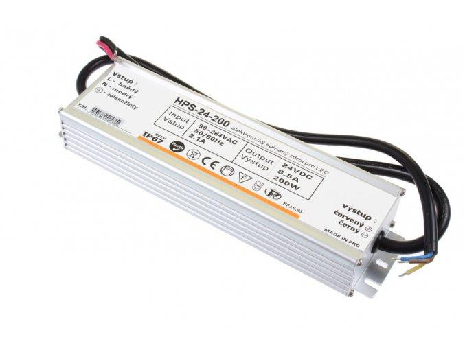 LED zdroj HPS 24V 240W IP67