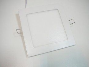 LED panel 12W čtverec bílý, 900 lm