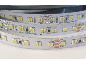 LED pásek 24V 2x12W/m CCT12, IP20, 1m