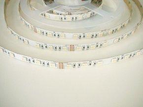 RGBW LED pásek 4v1, vnitřní, 24V, 1m