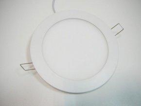 LED panel 12W kulatý bílý, 900 lm