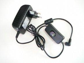 LED zdroj 12V 24W zásuvkový s vypínačem