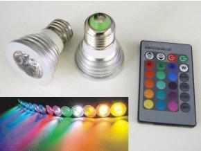 LED žárovka RGB E27 - 60°