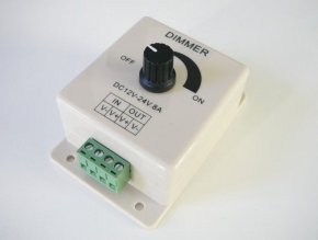 LED ovladač stmívač M5 8A