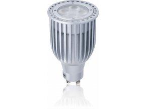 LED žárovka Tesla GU10, stmívatelná, 7W - 25°, teplá bílá
