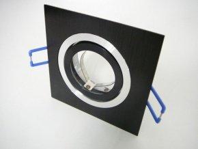 Podhledový rámeček D10-1B hranatý černý
