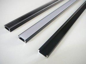 LED profil Mikro černý