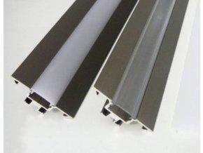 LED profil R1B - rohový