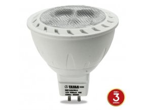 LED žárovka Tesla MR16, 4W - 38°, teplá bílá