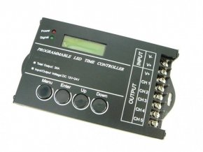 Programovatelný ovladač USB 5CH 20A pro LED