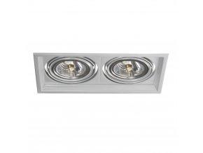 Podhledové svítidlo AR111 ARTO 2L-SR stříbrné