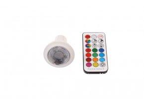 Barevná LED žárovka RGBWW, GU10, 6W, 230V, 60°