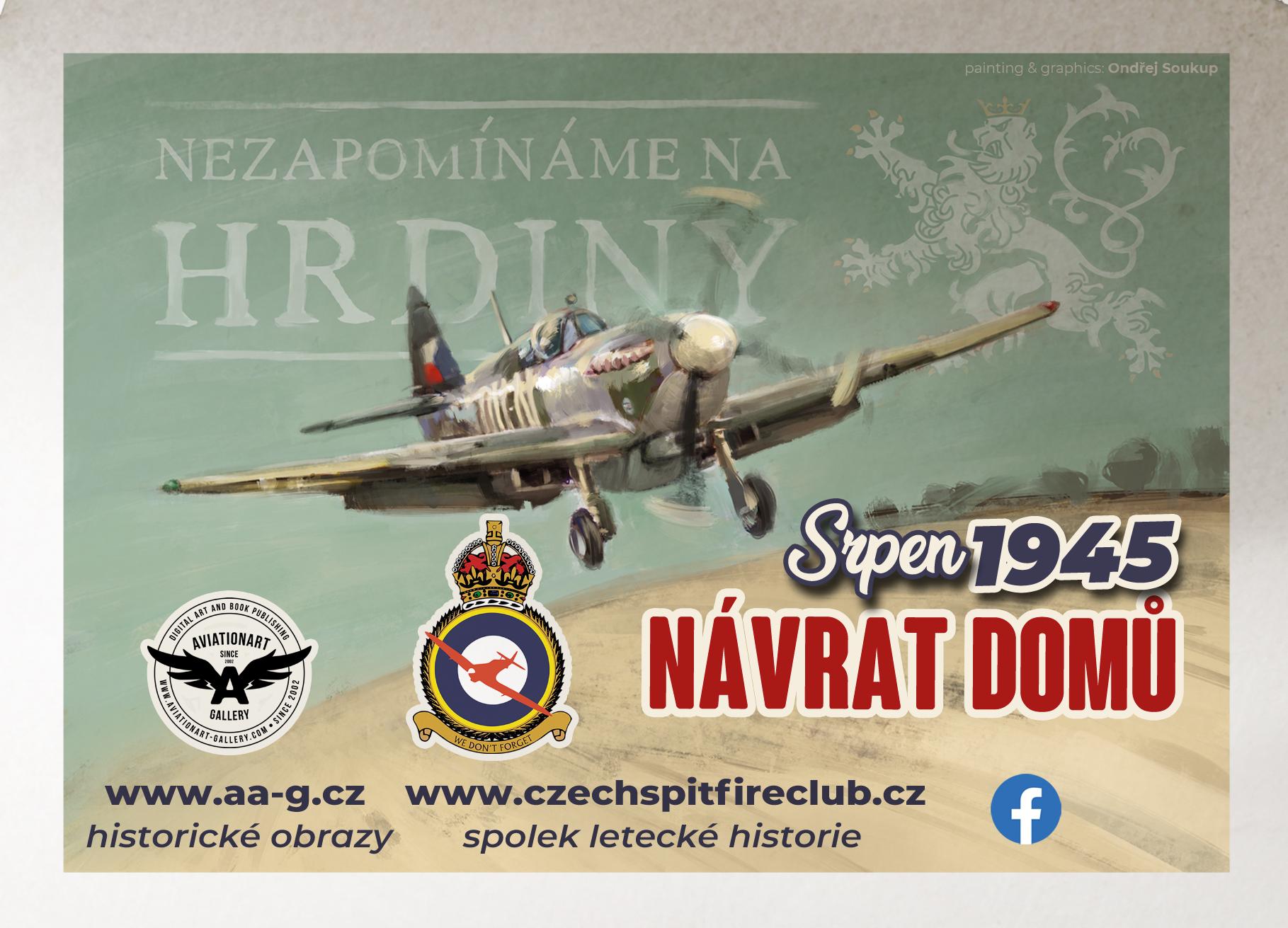 NÁVRAT DOMŮ 13. 8. 1945