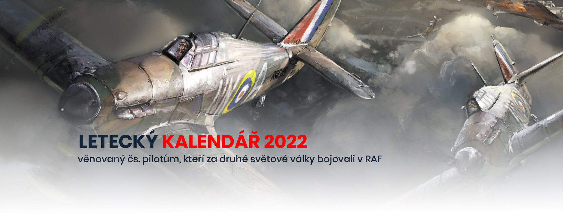 letecký kalendář 2022 Na křídlech za lva