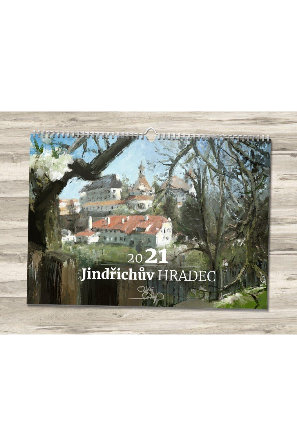 Kalendář 2021 Jindřichův Hradec