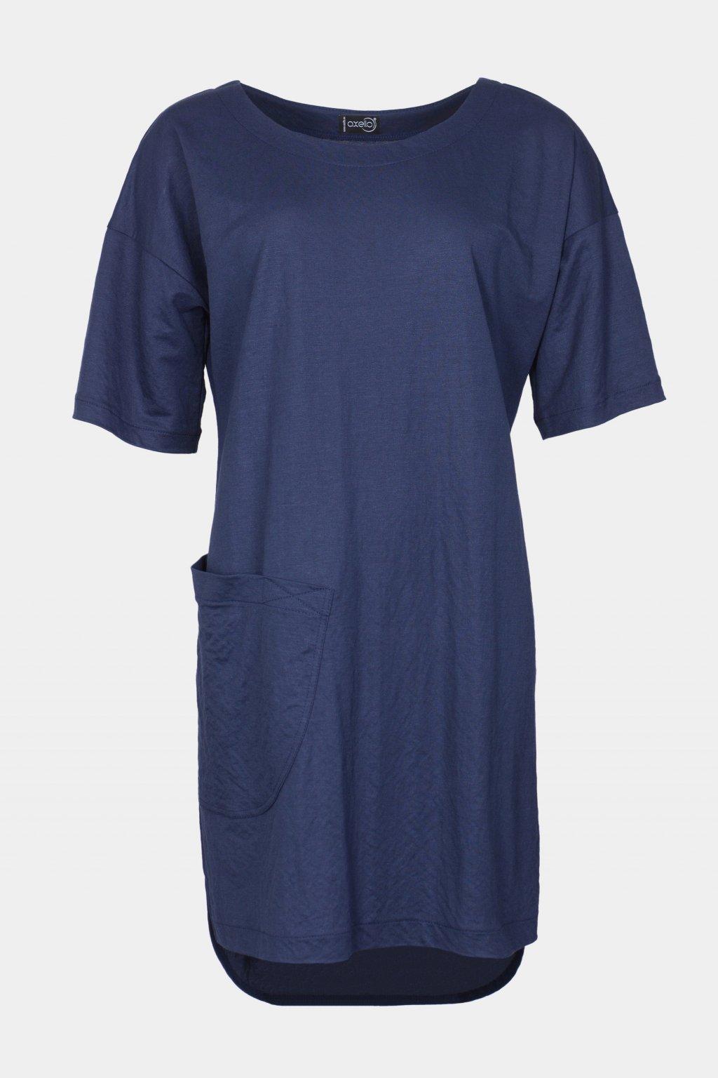 Šaty modré 28012