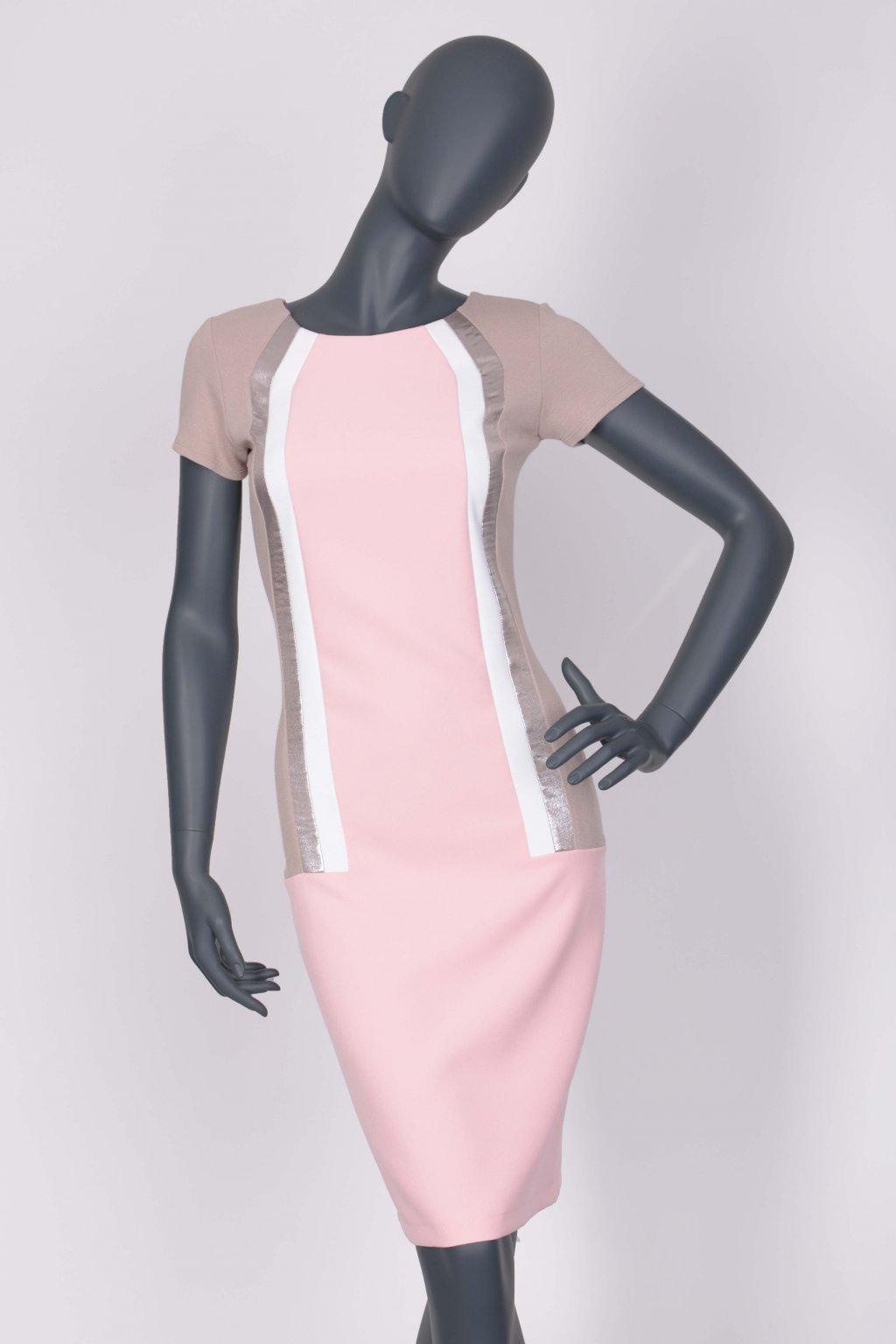 Šaty růžové 24130