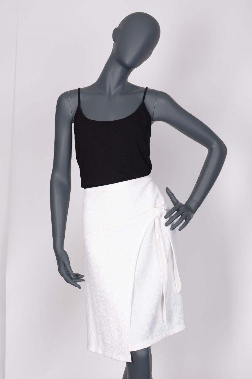 sukně s vázačkou 22065