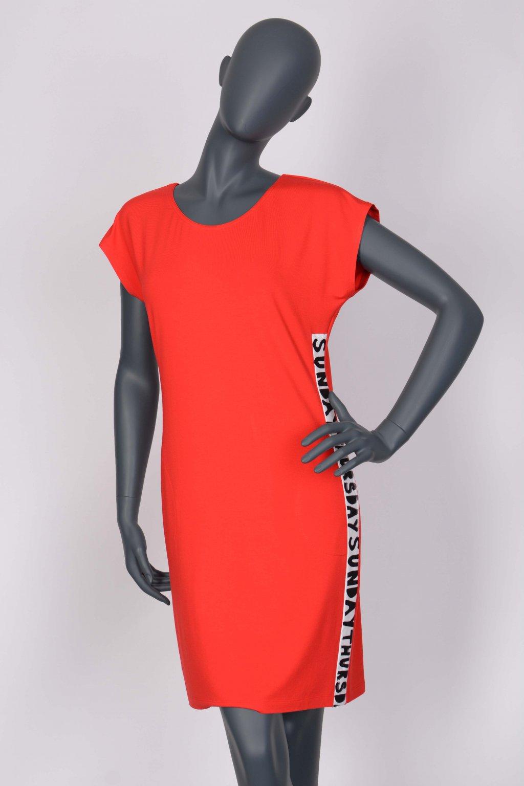 Šaty červené 28147