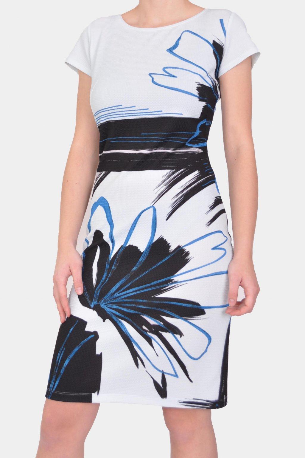 Šaty modré 29101