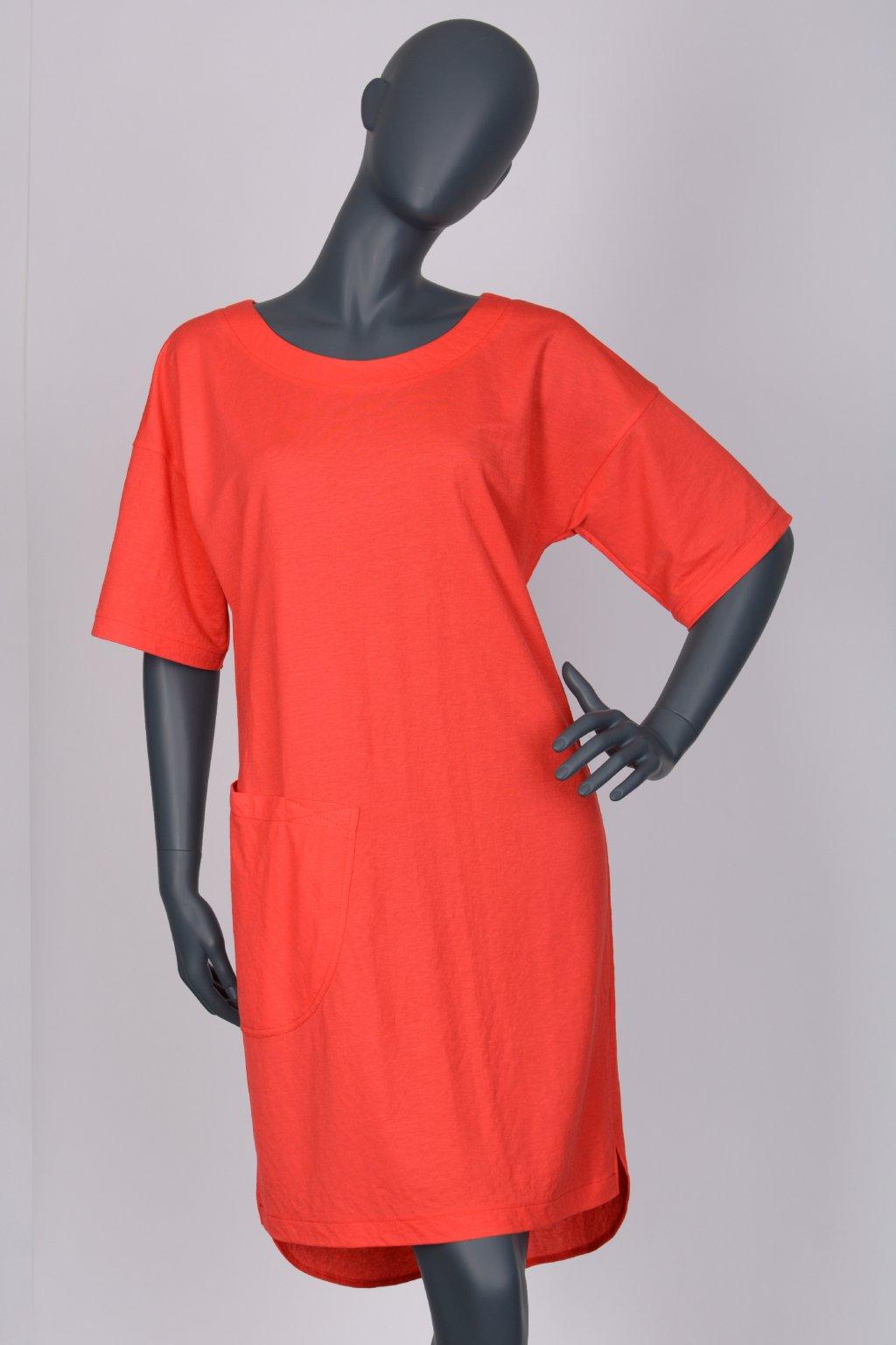 Šaty červené 28012