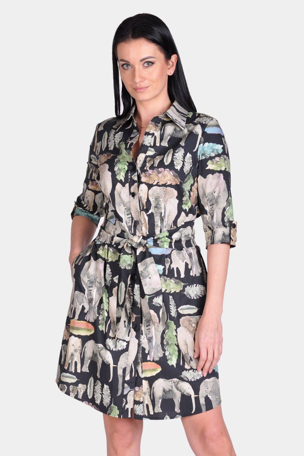 Košilové šaty 30005