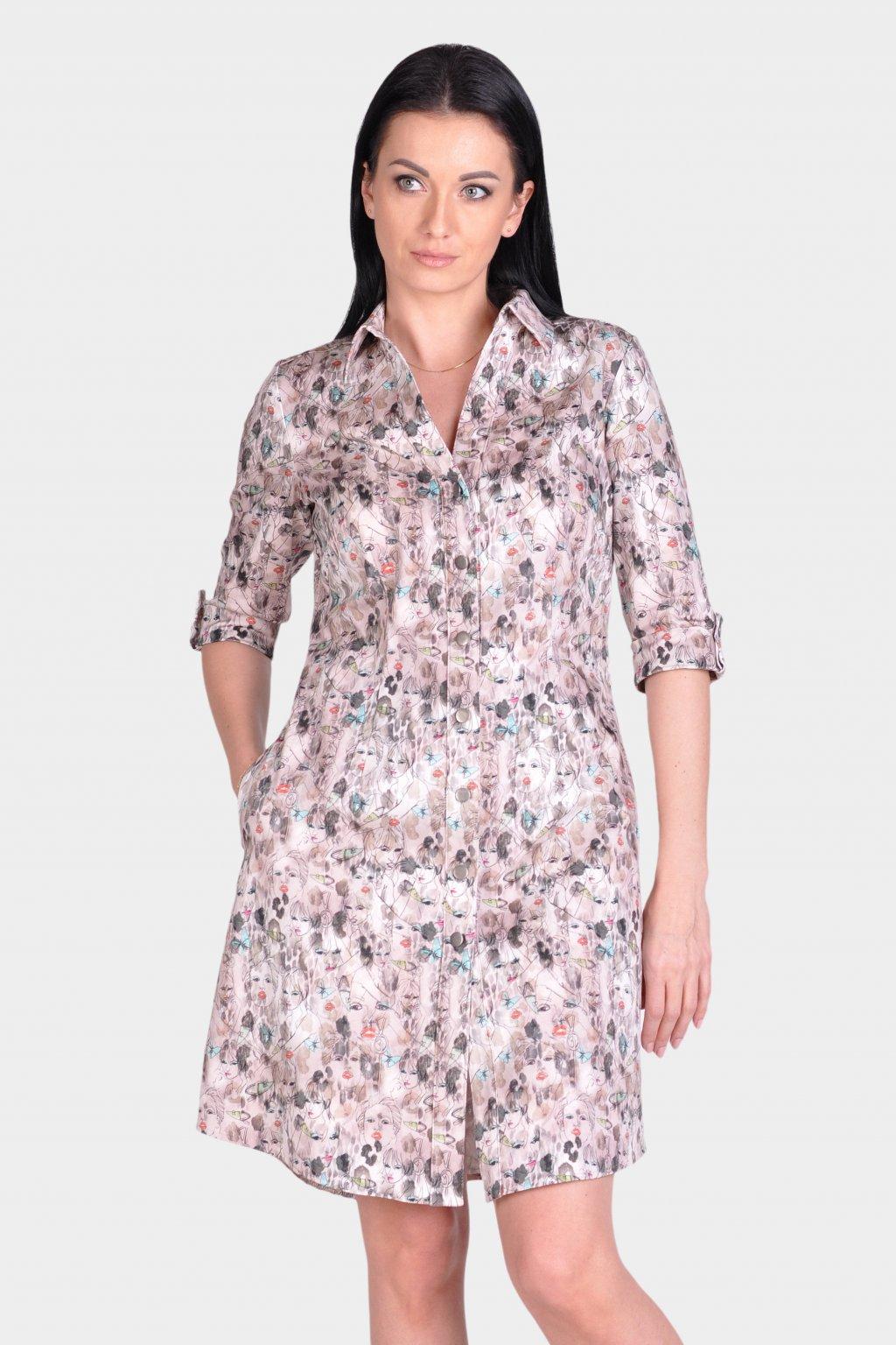 Košilové šaty 30065
