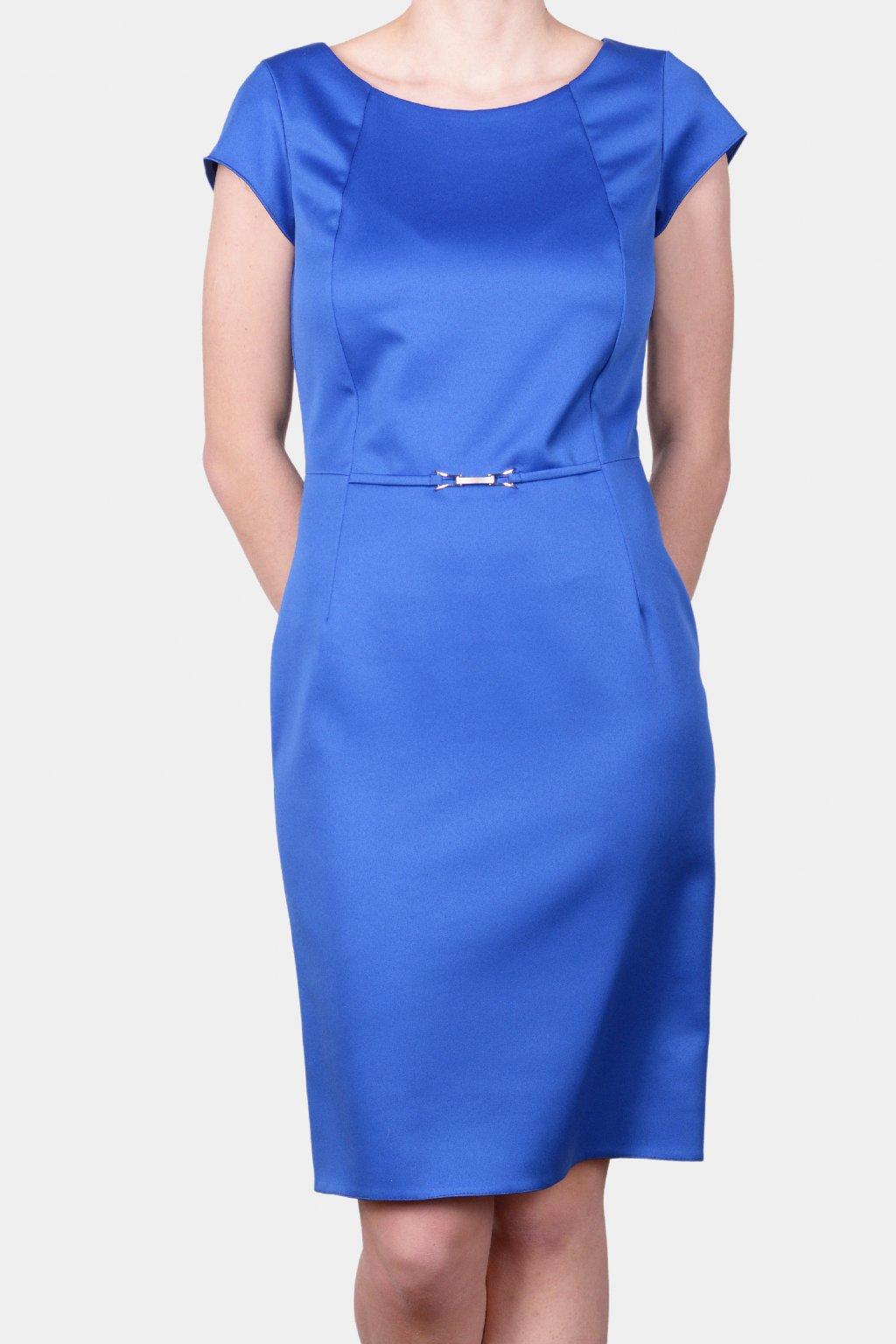 Šaty modré 26098
