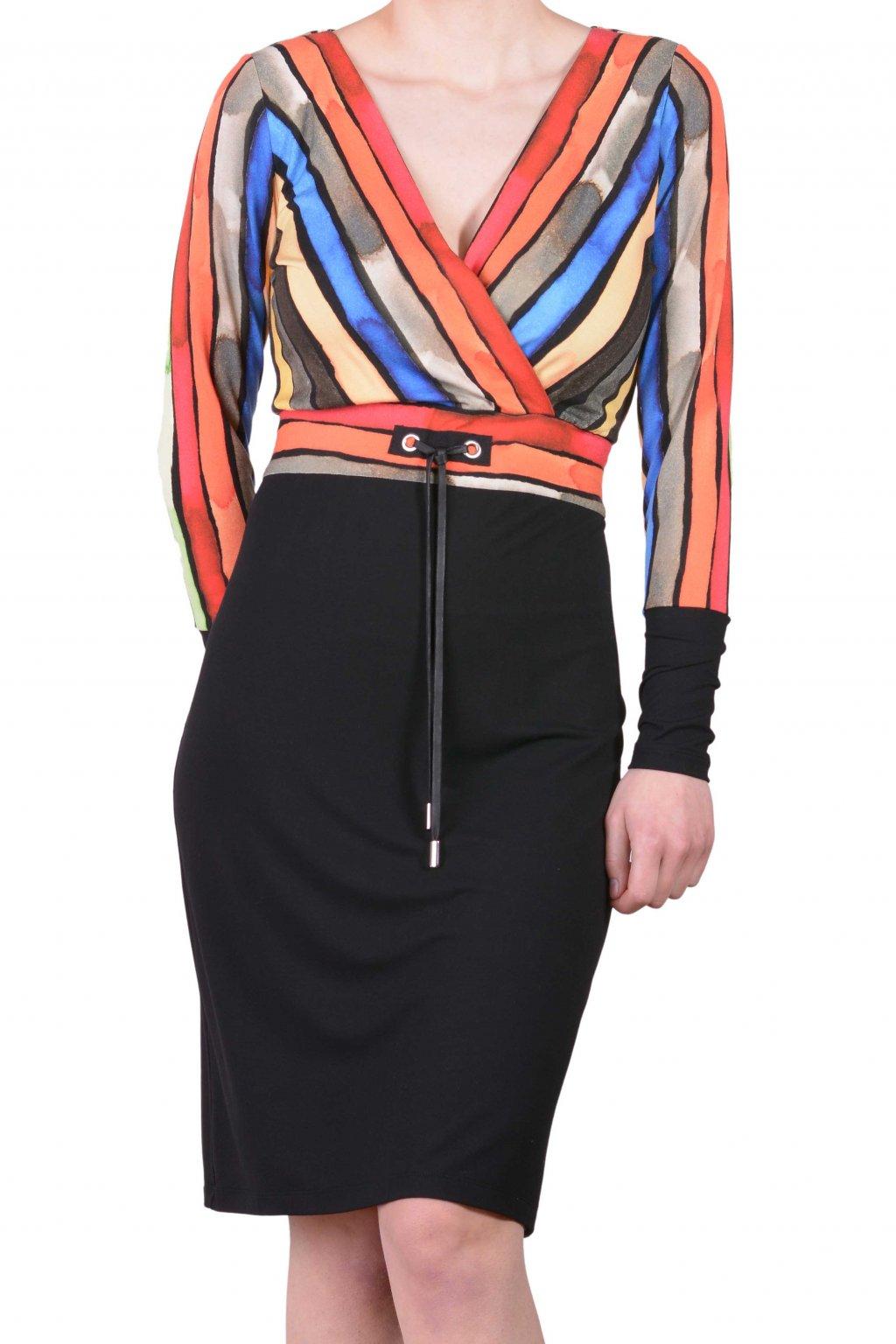 Šaty barevné 29046