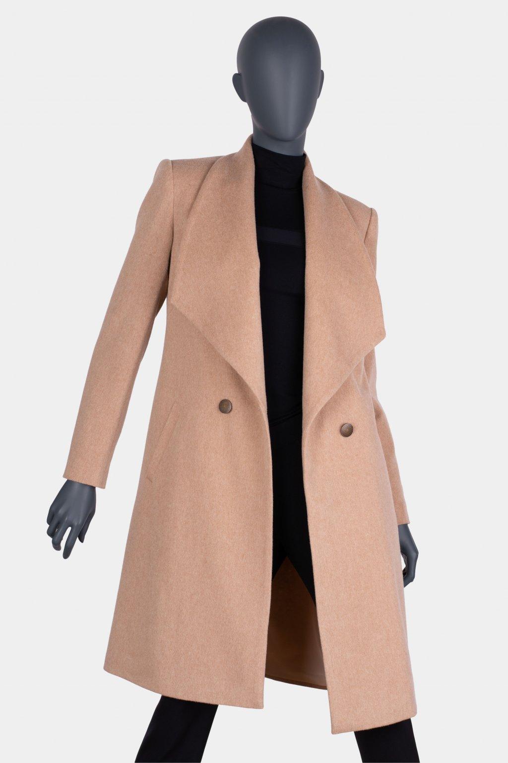 Kabát s kašmírem 31046