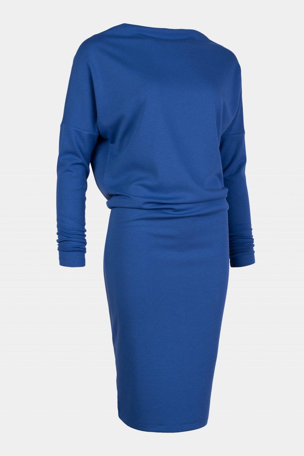 Šaty modré 31055