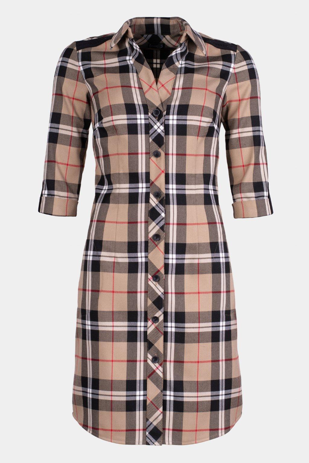 Šaty košilové 31064