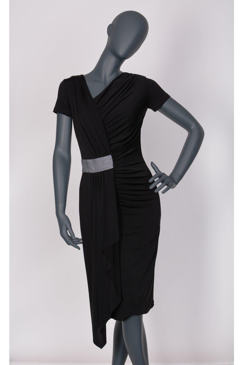 Šaty černé 23030