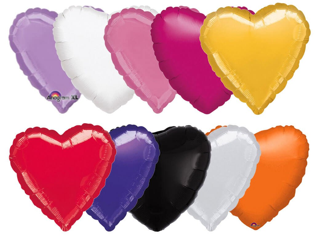 foliovy balonek srdce