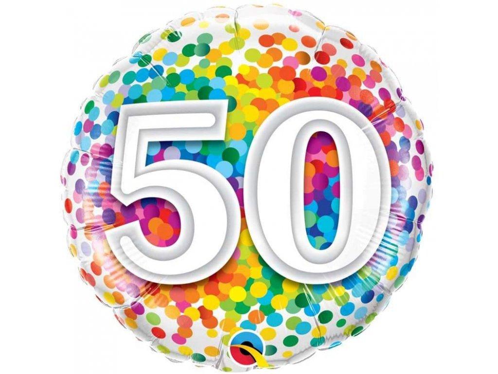 HB Rainbow Confetti 50 49543