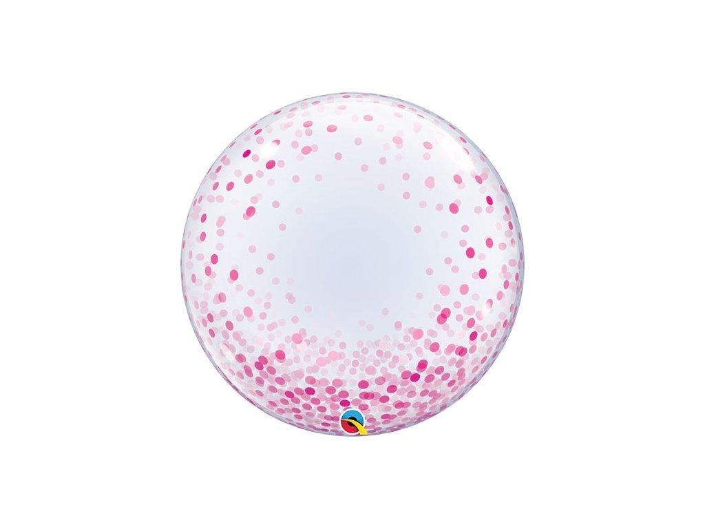 Bubble 61 cm Pink Confetti 57790