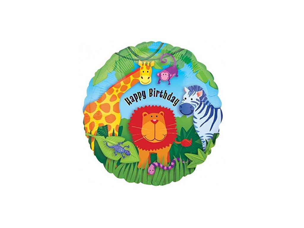 HB Birthday Jungle 119998