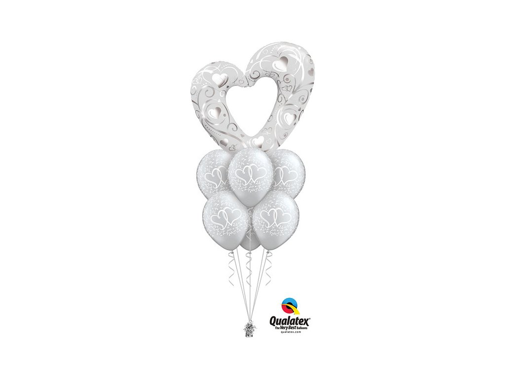 Giant Silver Heart