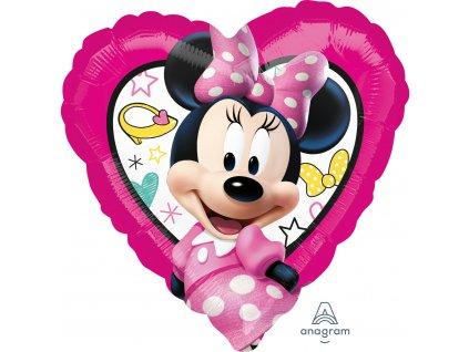 kulatý srdce Minnie