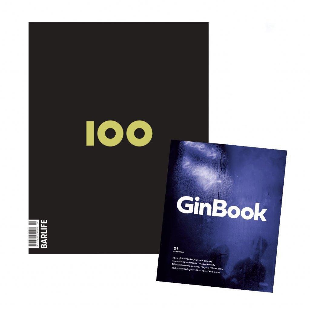 Set BARLIFE 100 & GinBook