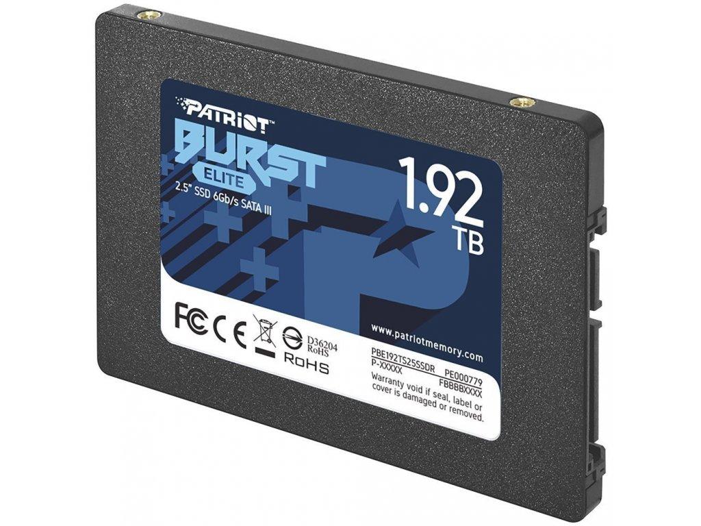 """Patriot Burst Elite 2.5"""" SATA SSD 1.92TB"""