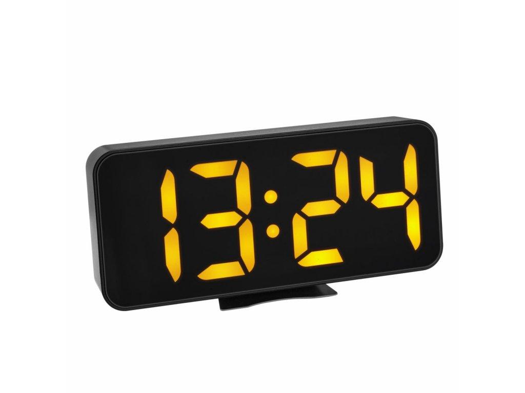 TFA Digitální budík s teploměrem a velkými LED číslicemi