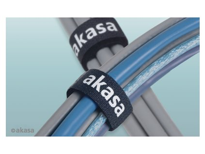 AKASA Tidy Kit 2, souprava na svazování kabelů