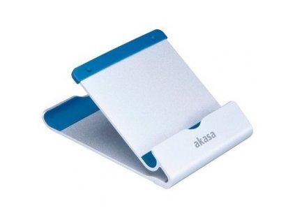 AKASA stojánek na tablet AK-NC053-BL hliníkový, stříbrný/modrý